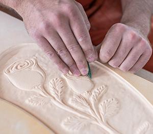 Storia di artigiani del marmo